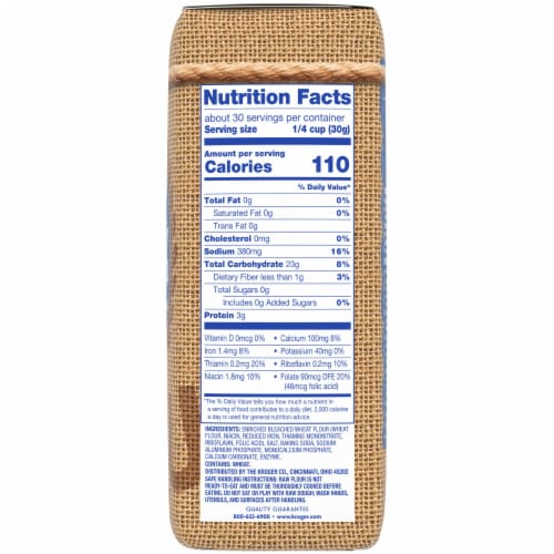 Kroger® Bleached Self-Rising Enriched Flour Perspective: right