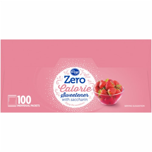Kroger® Zero Calorie Sweetener with Saccharin Perspective: right