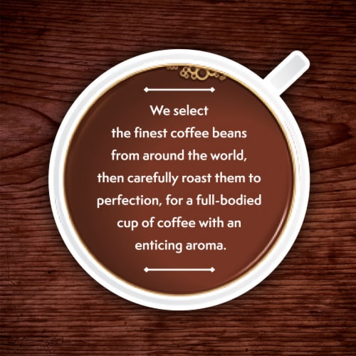 Kroger Classic Decaf Medium Roast Coffee K-Cup Pods Perspective: right