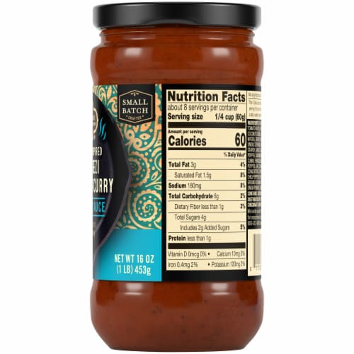 Private Selection™ Indian Inspired Jalfrezi Coconut Curry Simmer Sauce Perspective: right