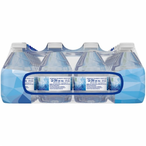 Kroger® Purified Drinking Water 32 Bottles Perspective: right
