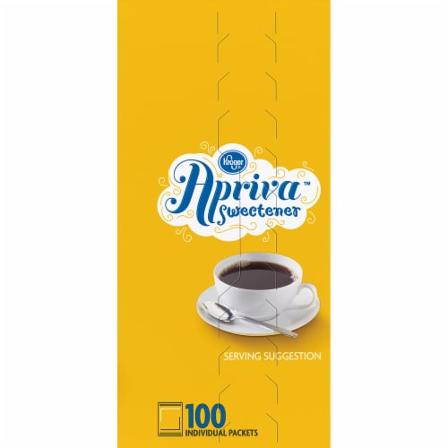 Kroger® Apriva Zero Calorie Sweetener with Sucralose Perspective: right