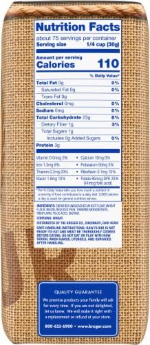 Kroger® Unbleached All Purpose Enriched Flour Perspective: right