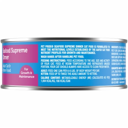 Pet Pride® Seafood Supreme Dinner Wet Cat Food Perspective: right