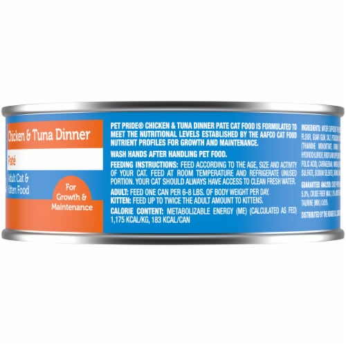 Pet Pride™ Chicken & Tuna Dinner Wet Cat Food Perspective: right
