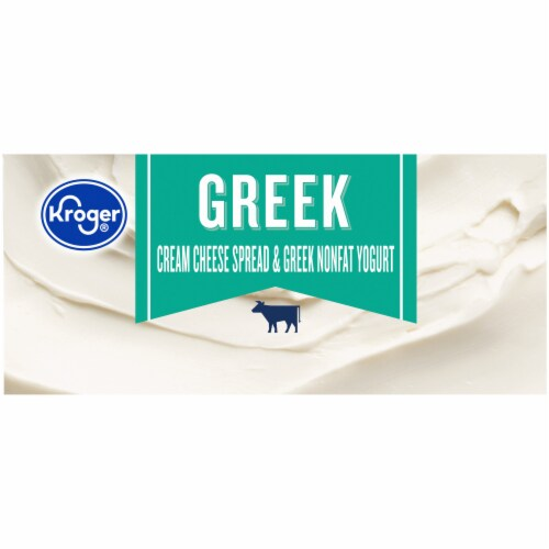 Kroger® Greek Cream Cheese Spread & Greek Nonfat Yogurt Perspective: right