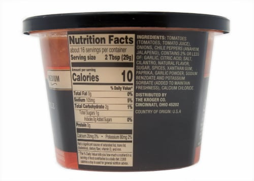 Private Selection™ Medium Restaurant Style Gourmet Salsa Perspective: right