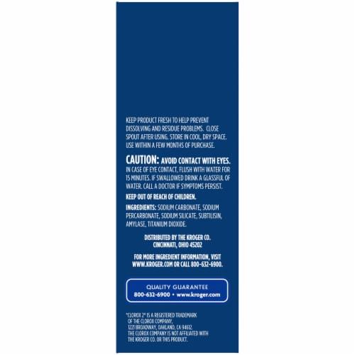 Kroger®  Color Safe Bleach Powder Perspective: right