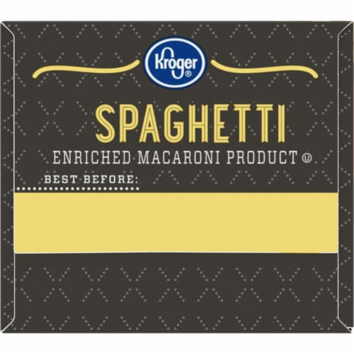 Kroger® Spaghetti Perspective: right
