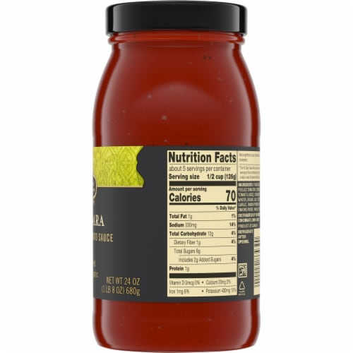 Private Selection® Marinara Traditional Tomato Sauce Perspective: right