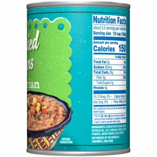 Kroger® Vegetarian Refried Beans Perspective: right