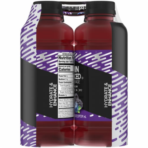Kroger® Black Blueberry Vitamin Enhanced Zero Calorie Water Beverage Perspective: right