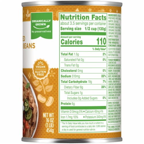 Simple Truth Organic® Refried Pinto Beans Perspective: right