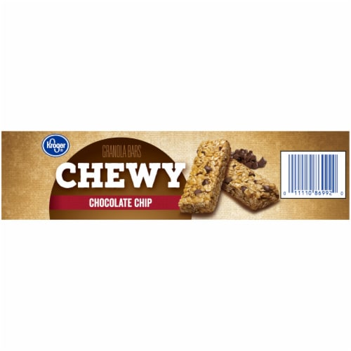 Kroger® Chewy Chocolate Chip Granola Bars Perspective: right