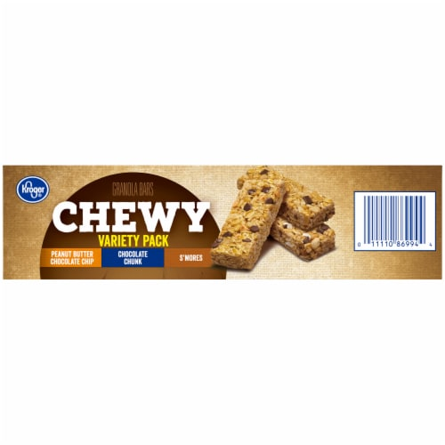 Kroger® Chewy Granola Bars Variety Pack Perspective: right