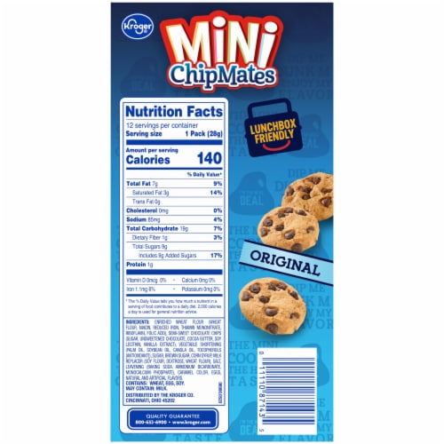 Kroger® Mini Chip Mates Snack Packs Perspective: right