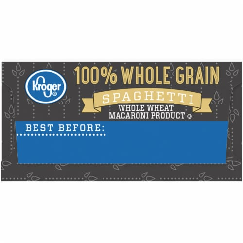 Kroger® 100% Whole Grain Spaghetti Perspective: right