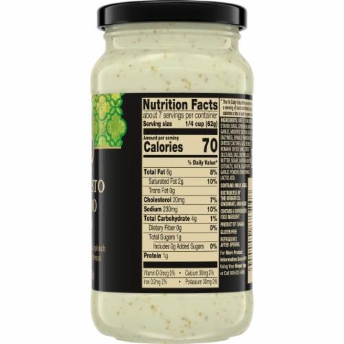 Private Selection® Basil Pesto Alfredo Cream Sauce Perspective: right