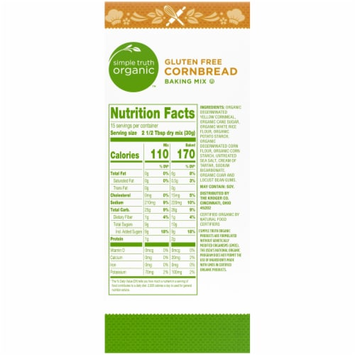 Simple Truth Organic™ Gluten Free Cornbread Baking Mix Perspective: right