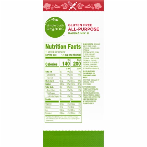Simple Truth Organic™ Gluten Free All-Purpose Baking Mix Perspective: right