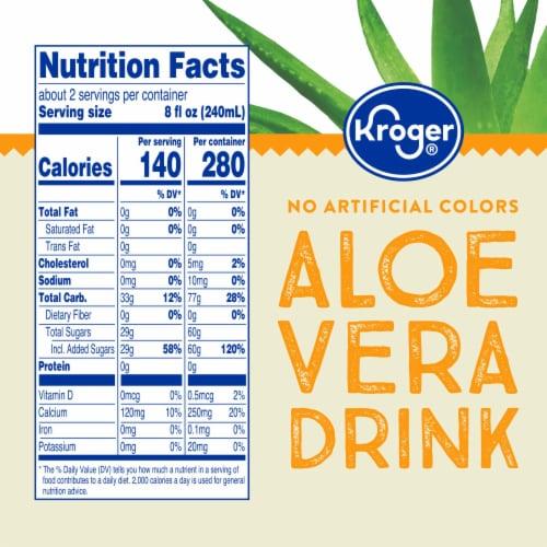 Kroger® Mango Flavor Aloe Vera Juice Drink Perspective: right