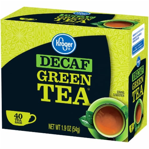 Kroger® Decaf Green Tea Bags Perspective: right