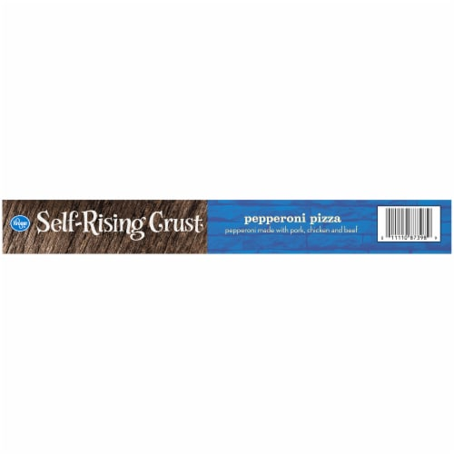 Kroger® Self-Rising Crust Pepperoni Pizza Perspective: right