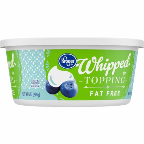 Kroger® Fat Free Whipped Topping Perspective: right