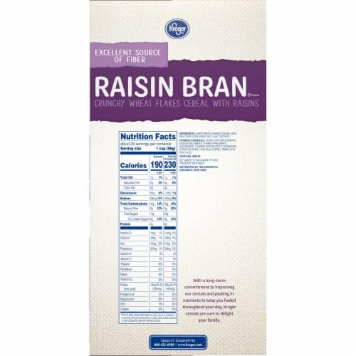 Kroger® Raisin Bran Crunchy Cereal Perspective: right