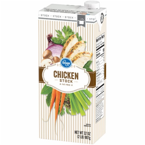 Kroger® Chicken Stock Perspective: right