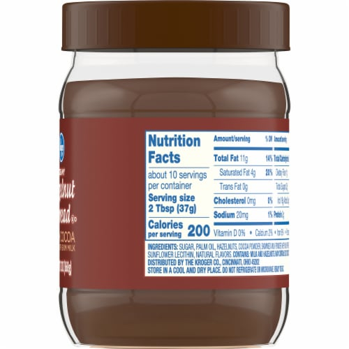 Kroger® Hazelnut Spread with Cocoa Perspective: right
