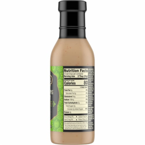 Private Selection® Crisp Apple Honey Vinaigrette Salad Dressing Perspective: right