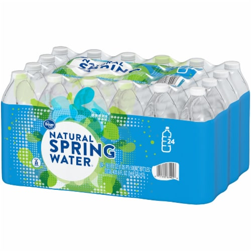 Kroger® Natural Spring Water Perspective: right