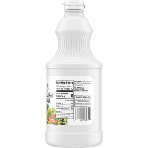 Smidge & Spoon™ Distilled White Vinegar Perspective: right