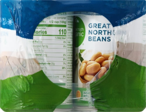 Simple Truth Organic® Great Northern Beans Perspective: right