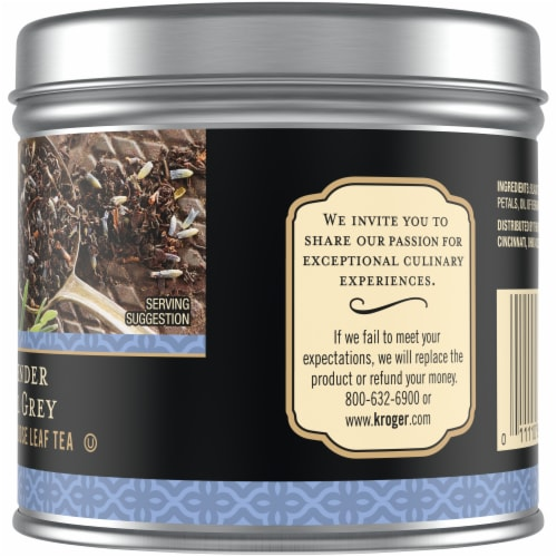 Private Selection® Lavender Earl Grey Black Loose Leaf Tea Perspective: right