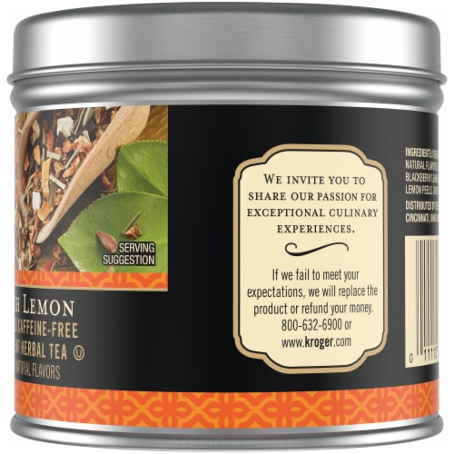 Private Selection® Peach Lemon Loose Leaf Herbal Tea Perspective: right