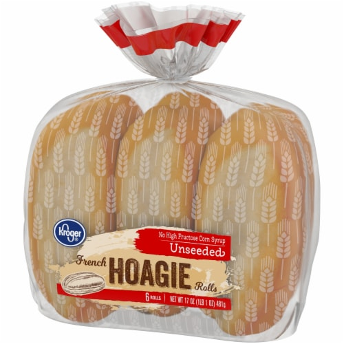 Kroger® French Hoagie Rolls 6 Count Perspective: right