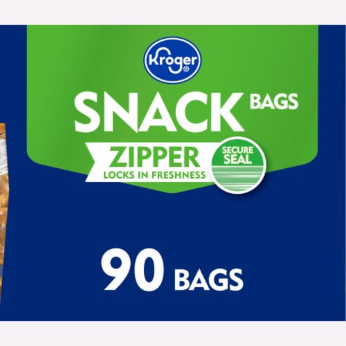 Kroger® Zipper Snack Bags Perspective: right