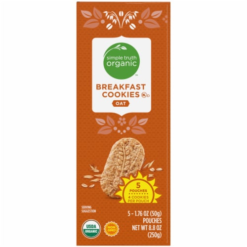 Simple Truth Organic™ Oat Breakfast Cookies Perspective: right