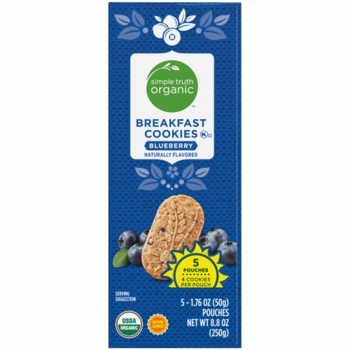 Simple Truth Organic™ Blueberry Breakfast Cookies Perspective: right