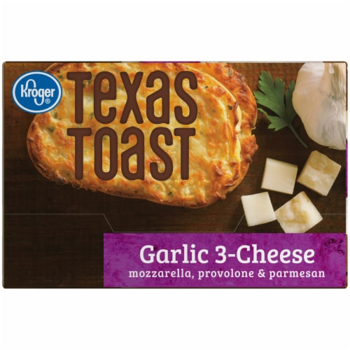 Kroger® Garlic 3-Cheese Texas Toast Perspective: right