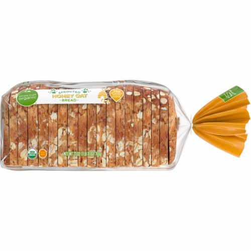 Simple Truth Organic™ Sprouted Honey Oat Bread Perspective: right