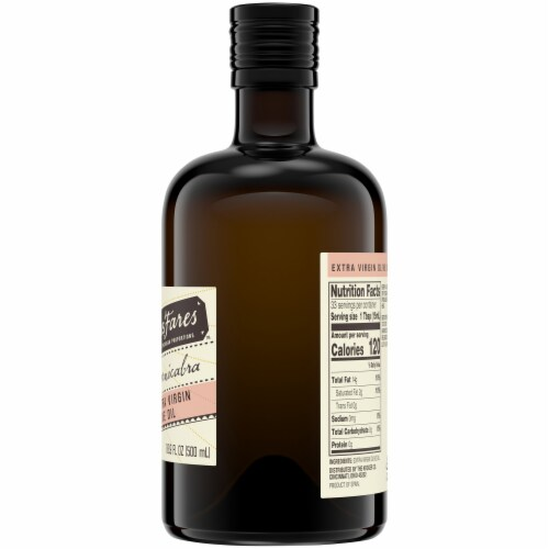 HemisFares™ Spanish Cornicabra Extra Virgin Olive Oil Perspective: right