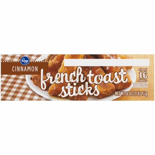 Kroger Cinnamon French Toast Sticks Perspective: right