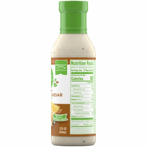 Simple Truth Organic™ Creamy Parmesan Caesar Dressing Perspective: right