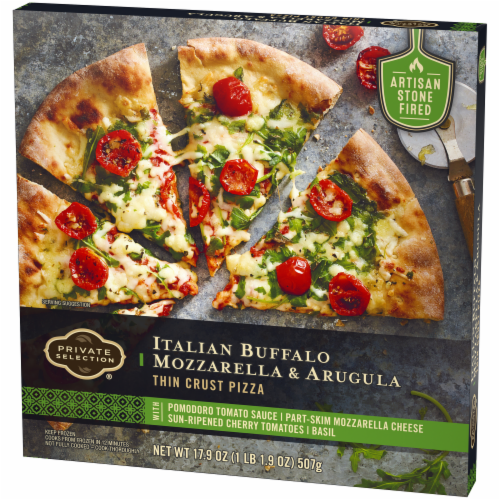 Private Selection® Italian Buffalo Mozzarella & Arugula Thin Crust Pizza Perspective: right