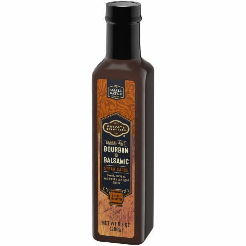 Private Selection™ Bourbon & Balsamic Steak Sauce Perspective: right