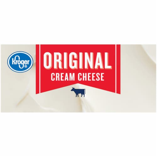 Kroger® Original Cream Cheese Perspective: right