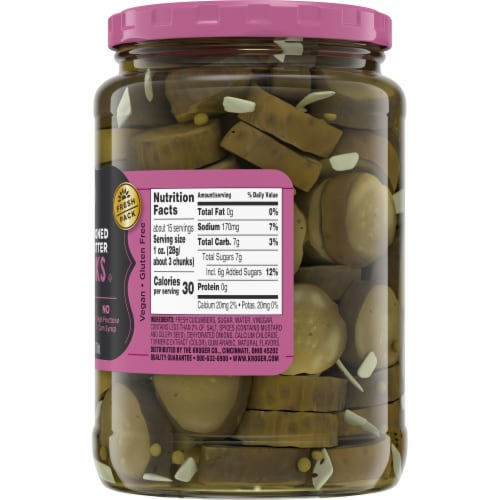 Kroger® Old Fashioned Bread & Butter Pickle Chunks Perspective: right